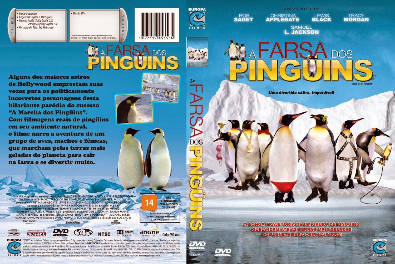 Capa DVD A Farsa Dos Pinguins