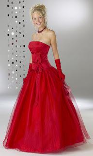 صور فساتين حمراء Photos red dresses