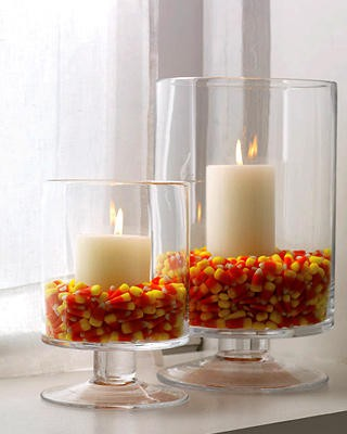 Candy in Weddings - Candy Table Centerpiece