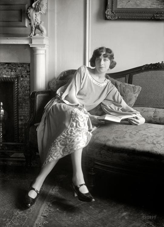 Fanny Brice, New York circa 1922