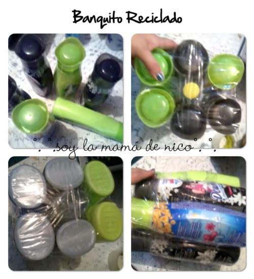 Ideas Para Decorar El Baño Reciclando: la mamá de nico°• °•: Día 72 y 73 Banco reciclado de Pocoyo