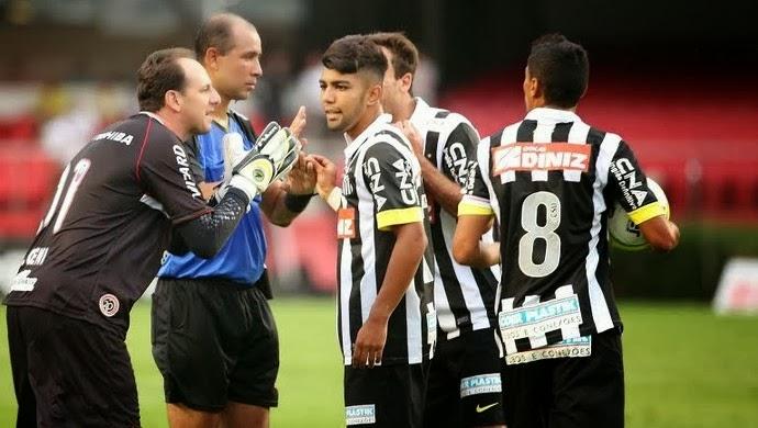 São Paulo 0 x 0 Santos