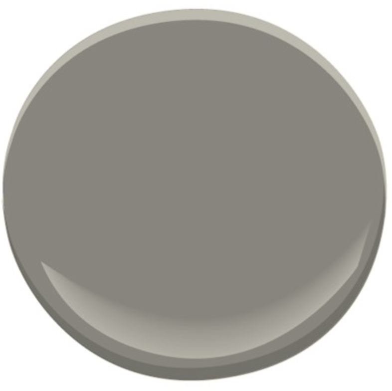 Classic with a twist for Benjamin moore chelsea gray paint