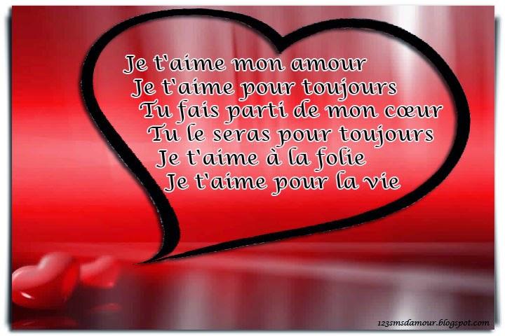 joli Message d'amour qui rime