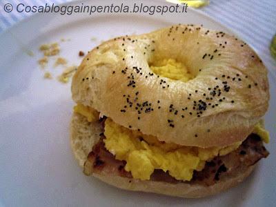 bagels ricetta cosa blogga in pentolacosabloggainpentola