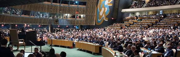 การประชุมสมัชชาใหญ่แห่งสหประชาชาติ(ยูเอ็นจีเอ) ครั้งที่ 70 _  H.E. Mr. Barack Obama, President