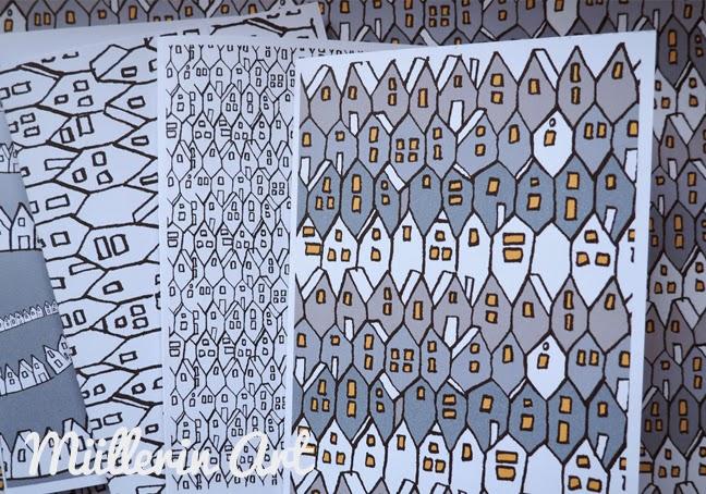 Musterstadt-Postkarten