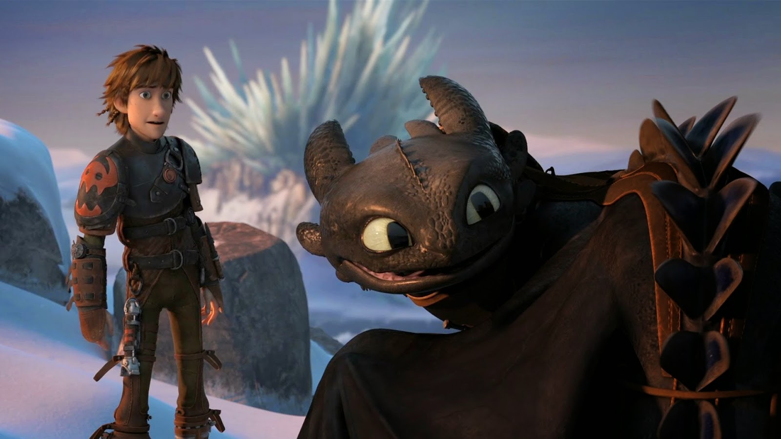 How To Train Your Dragon 2 Toothless and Hiccup still