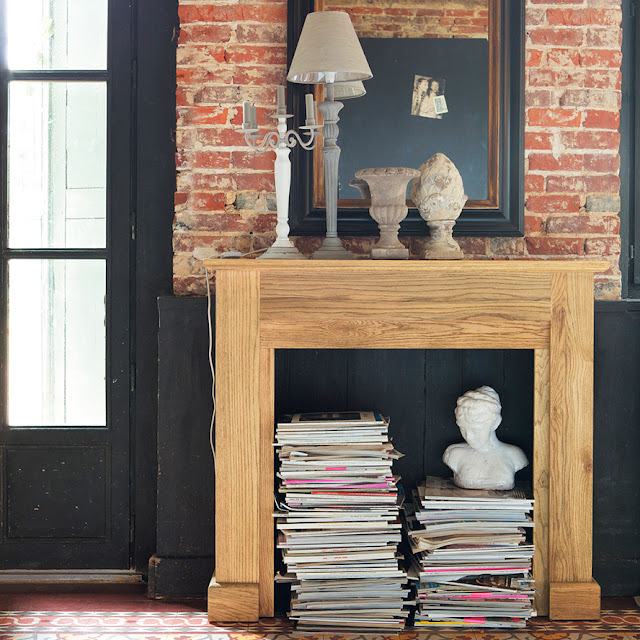 idée décoration ajouter une cheminée