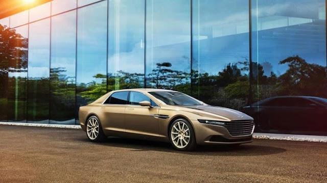 Aston Martin Lagonda có giá 1,084 triệu bảng tại Anh Quốc