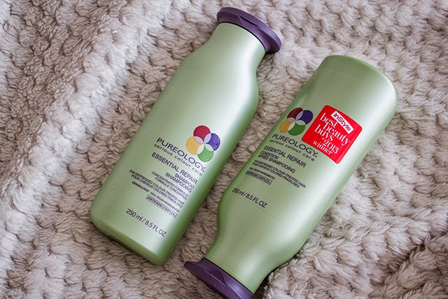 pureology essential repair shampoo & conditioner