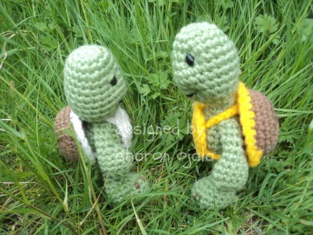 Amigurumi To Go Turtle : Little Bigfoot Turtle Free Crochet Pattern ~ Amigurumi To Go