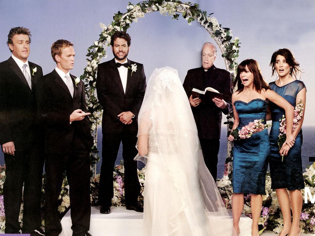 Robin e Barney sposa