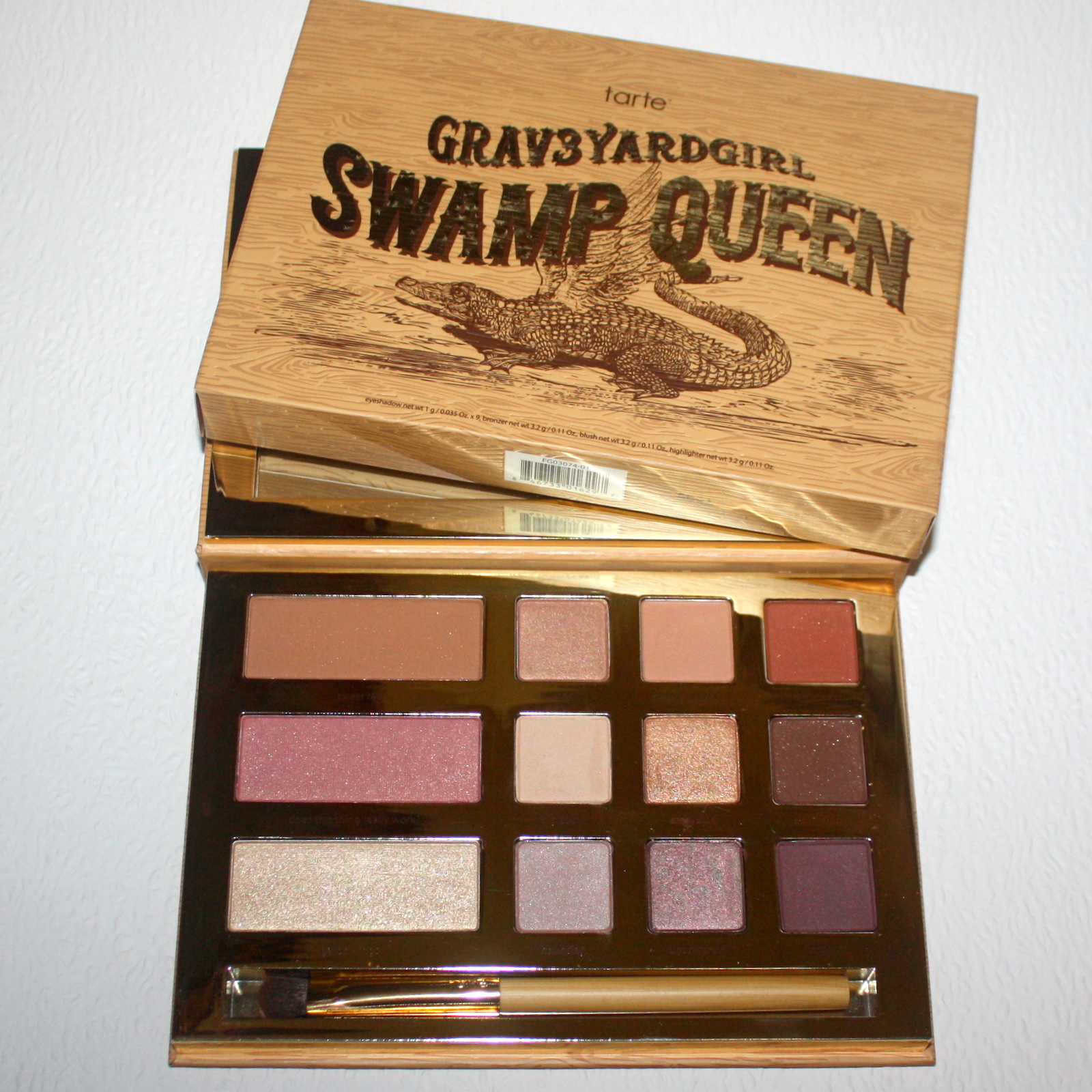 .Tarte Grav3yardgirl Swamp Queen Eye & Cheek paletta