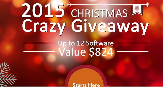 بمناسبة السنة الجديدة: عرض الحصول على برامج مهمة يبلغ ثمنها 824$ مجانا؛ سارع للحصول عليها