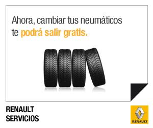 Renault Servicios - Cambio de ruedas