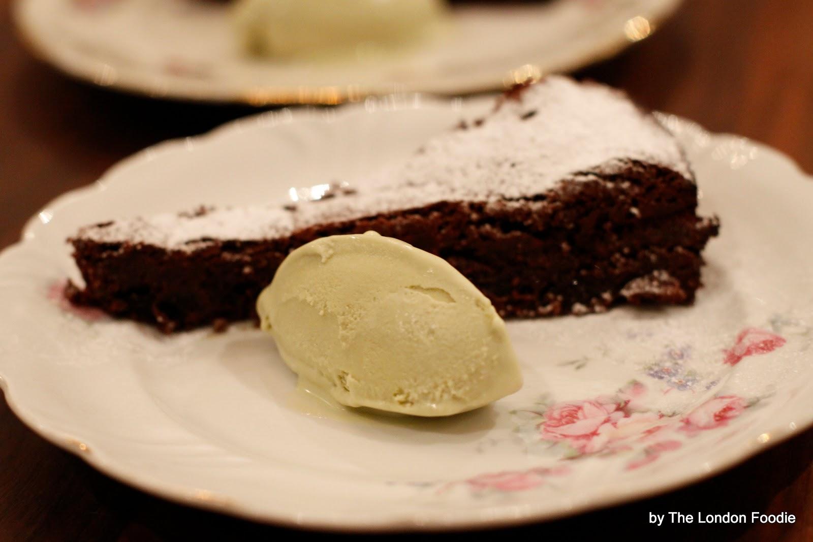 The London Foodie: Flourless Dark Chocolate Cake with Whisky Prunes ...