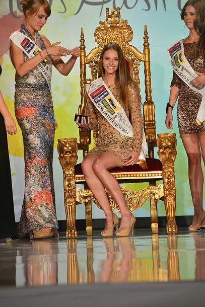Miss Osterreich Austria 2014 winner Julia Furdea