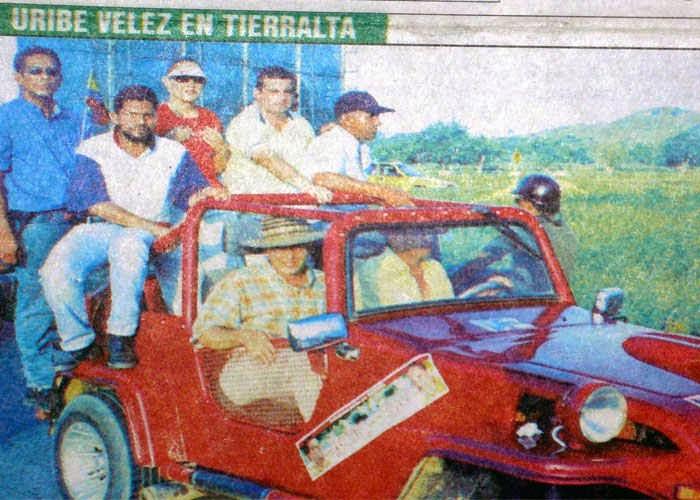 COLOMBIA / Uribe en narcofotos con sus socios de la parapolítica