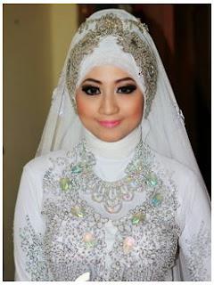 Desain Hijab Modern Untuk Akad Nikah Terbaru