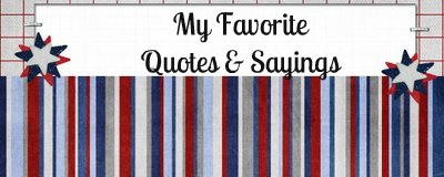 My favorite quotes and sayings