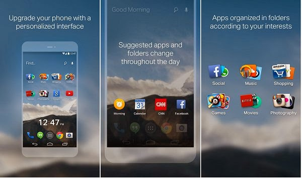 EverythingMe Launcher for Android Phone