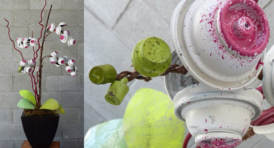 Coletivo de artista cria lindas obras com lata de tinta spray
