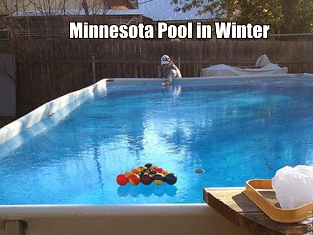 Penguin Pools Alternative Uses For Your Swimming Pool In Winter