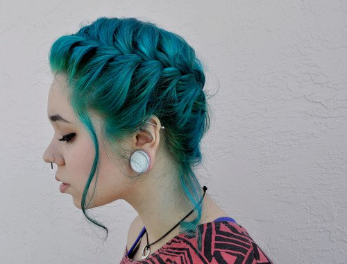 kymspins turquoise and teal the way hair should be
