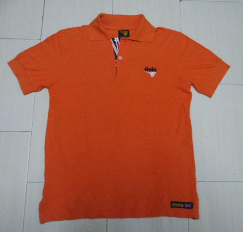 Clayback bush thrift store polo t shirt gola classic for What stores sell polo shirts