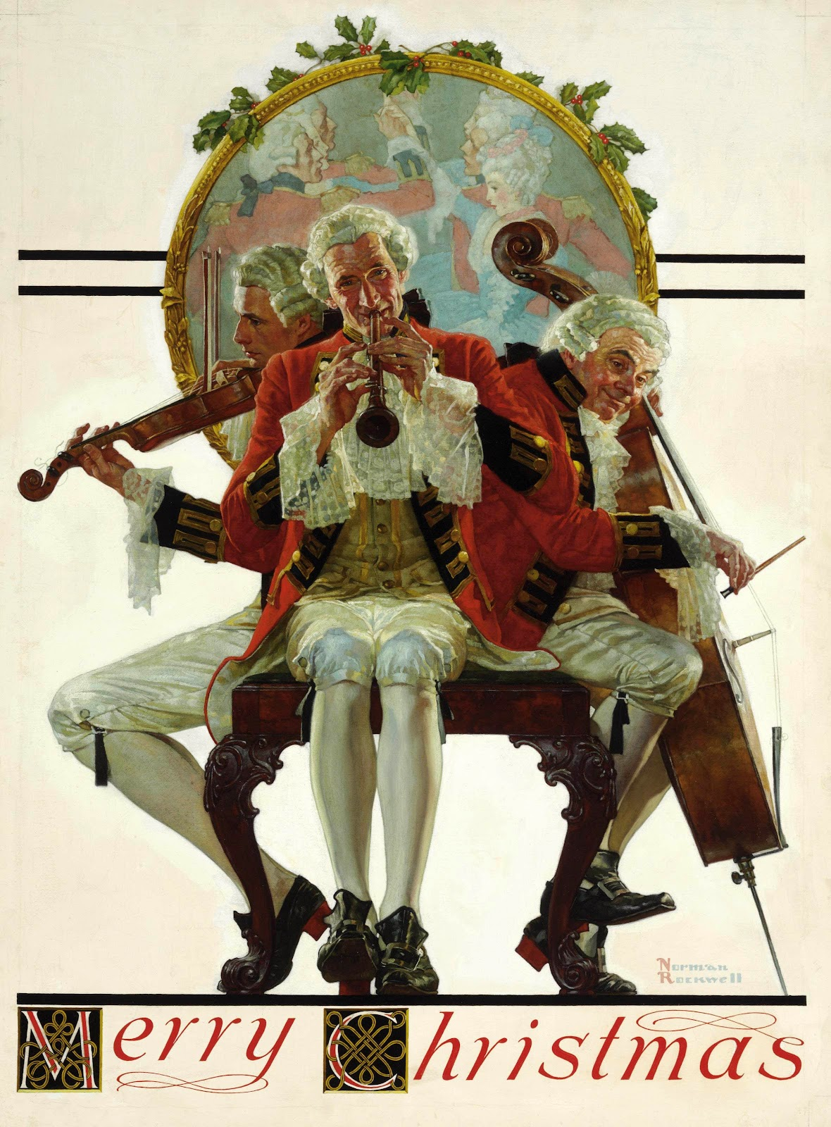 Truth in the Bright Light of Day: Norman Rockwell ~ Merry Christmas ...