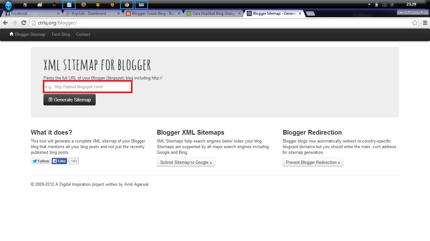 Cara Mengcopy Semua Isi Postingan Blog Orang Lain