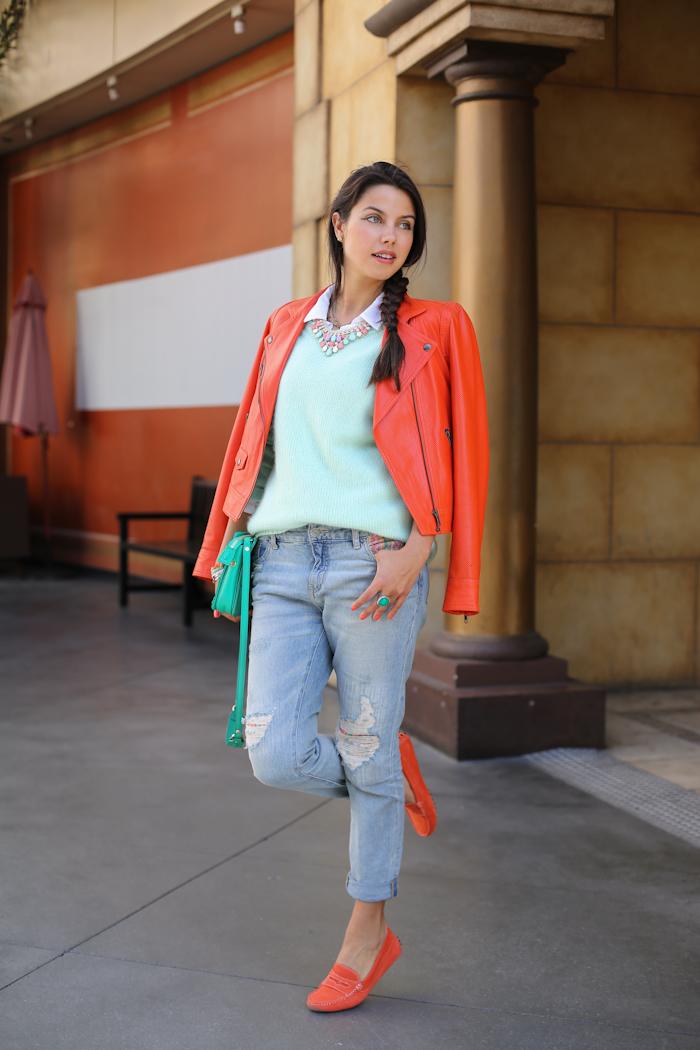 Vivaluxury Fashion Blog By Annabelle Fleur Oh So Very Orange