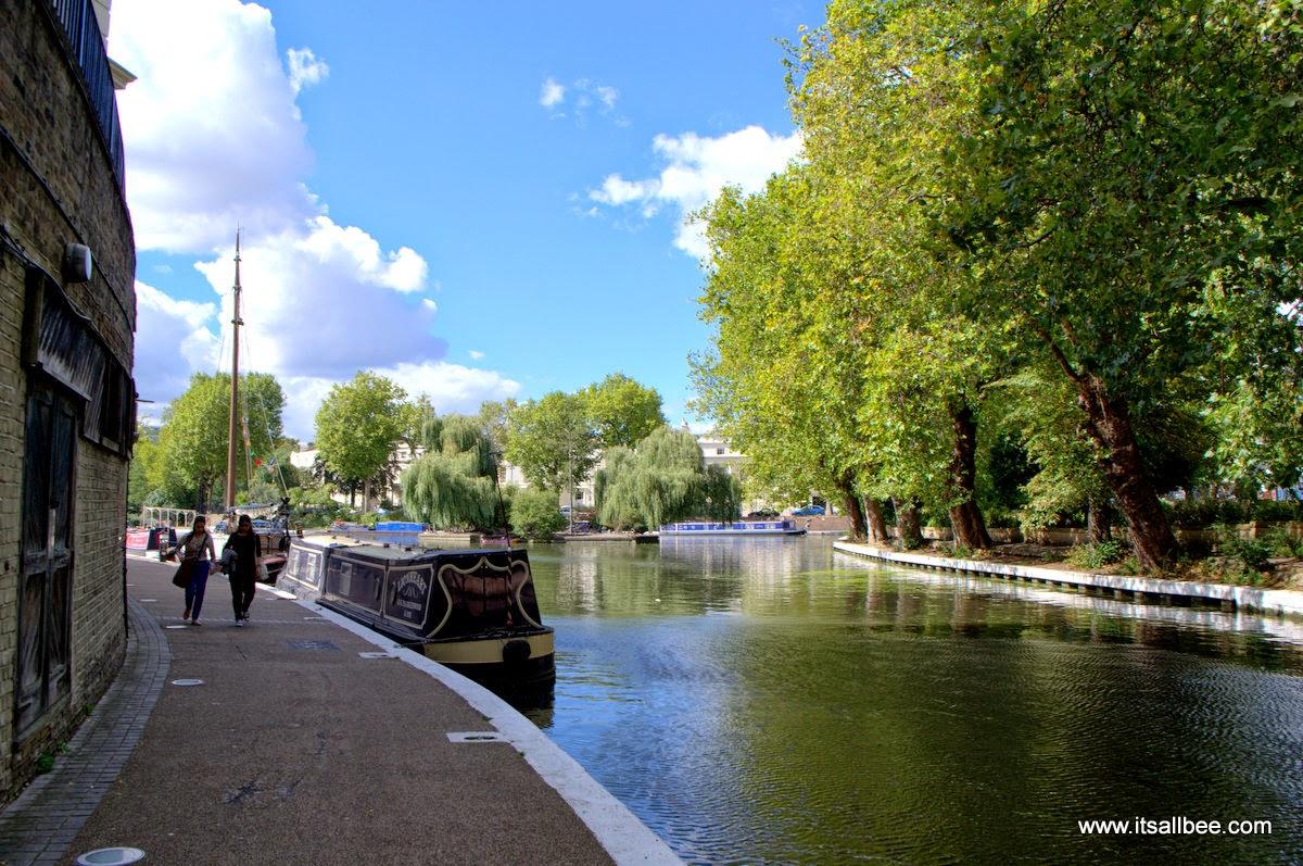 Tours Boats and WALKING Little Venice London Warrick Avenue Paddington