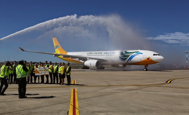 cebu pacific australia flights