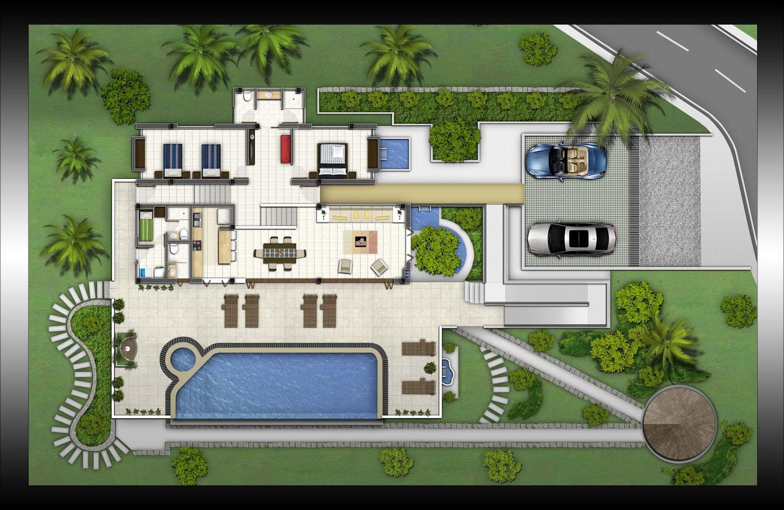 Casa de campo condominio campo madero ibagu for Plantas arquitectonicas de casas
