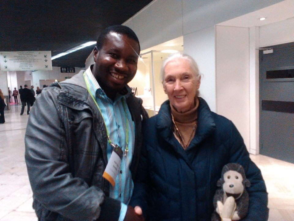 A moment with Jane Goodall