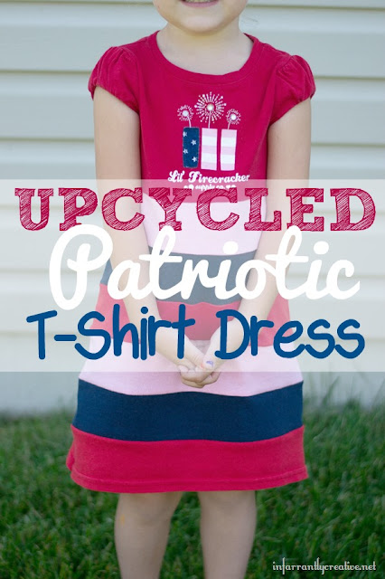 Banded T-shirt Dress Sewing Tutorial