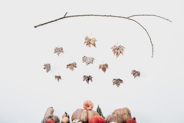 Guirlande d'automne - DIY