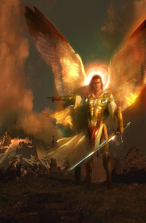 Archangel Michael Walks with Me