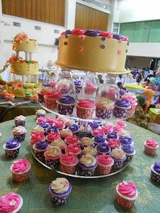 kek kawin 2 tingkat
