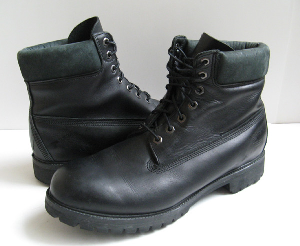 Bottes Timberland Noir Taille 13 Hommes iL8g5