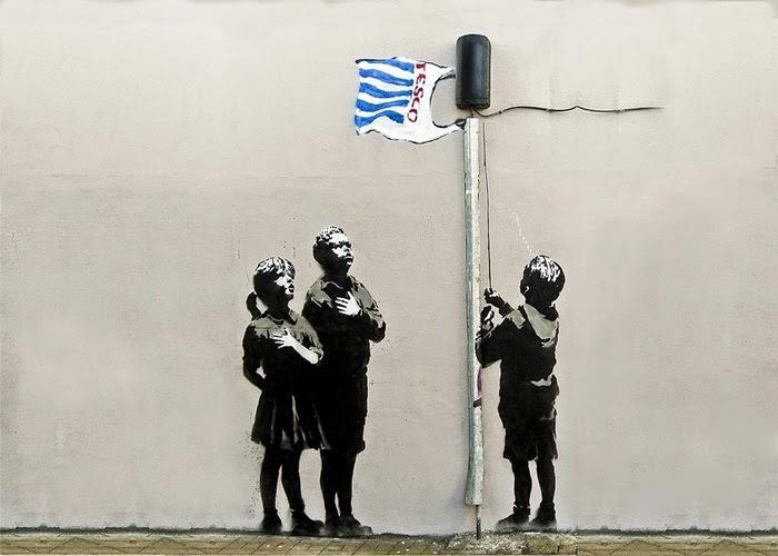 banksy wallpaper