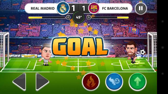 Head Soccer v3.4.4 Apk + Datos SD Mod [Dinero]