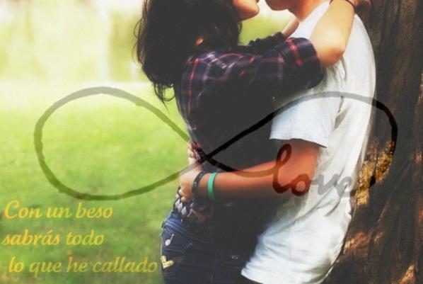 Con un beso sabrás todo lo que he callado ♥