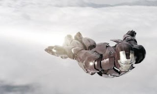 manusia besi terbang
