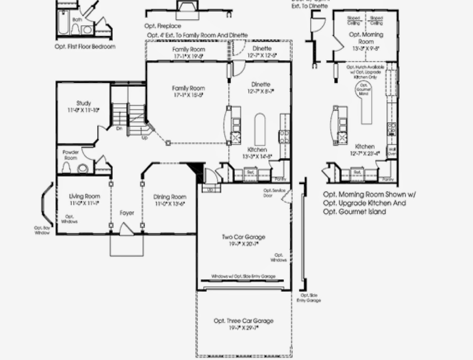 Oberlin Floor Plan Ryan Homes Home Photo Style