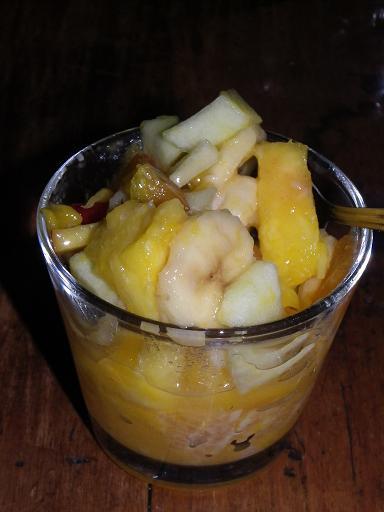 Mal ne aux fourneaux salade de fruits maison et donc 0pp - Salade de fruits maison ...