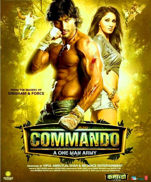 Commando (2013) DVDScr Rip | Full Movie - Free Download Bollywood
