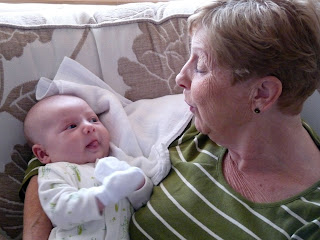 Freddie and Great Great Auntie Jean